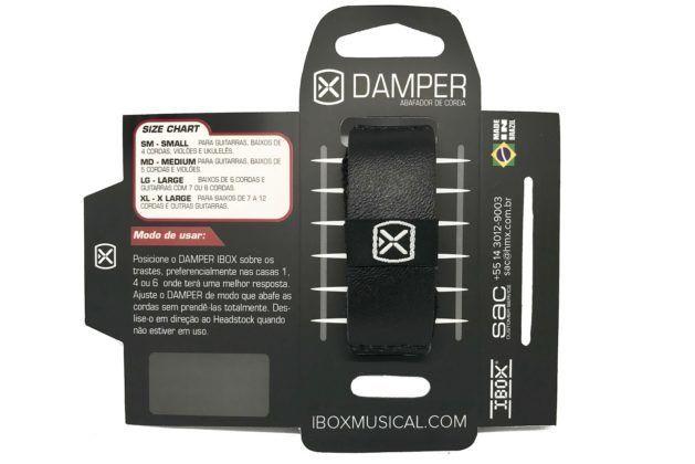 Damper Abafador em couro para instrumentos de cordas - Ibox