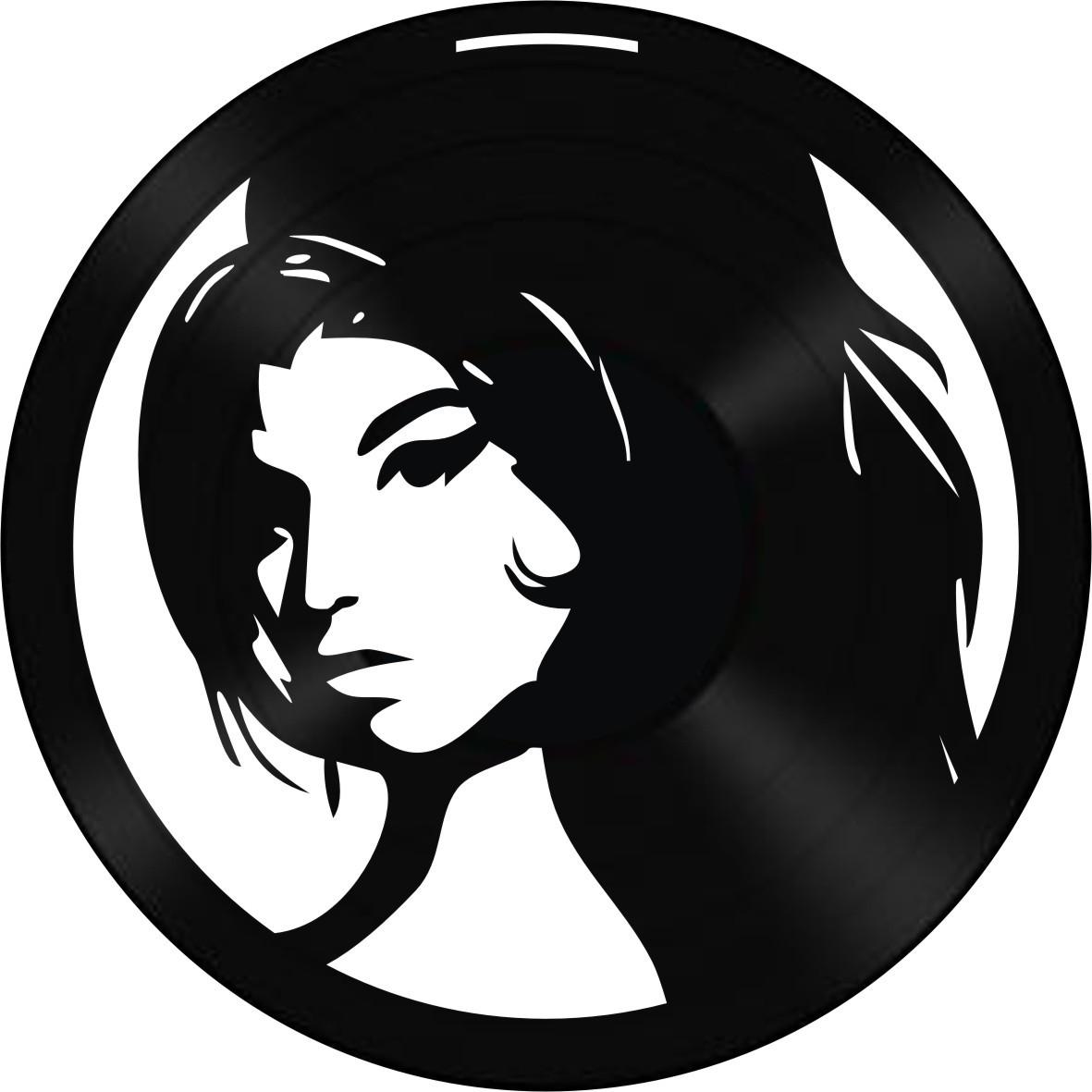 Disco de Vinil Decorativo Amy Winehouse