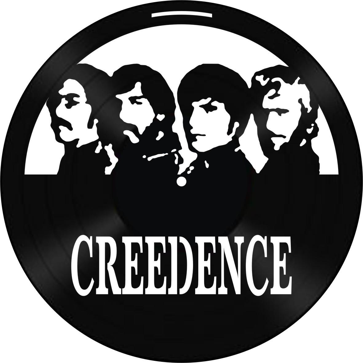 Disco de Vinil Decorativo Creedence Clearwater
