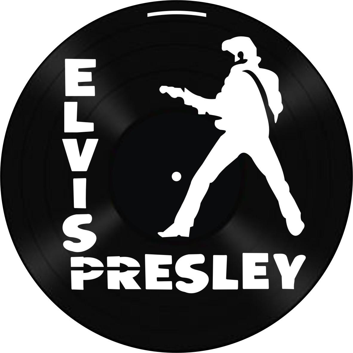 Disco de Vinil Decorativo Elvis Presley