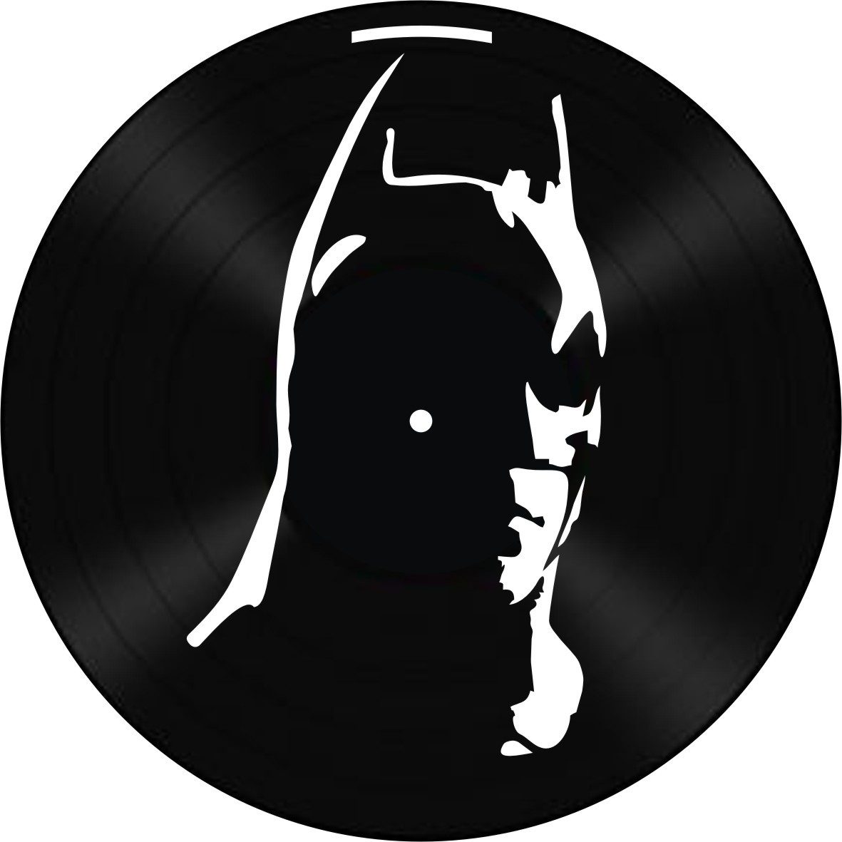 Disco de Vinil Decorativo Batman