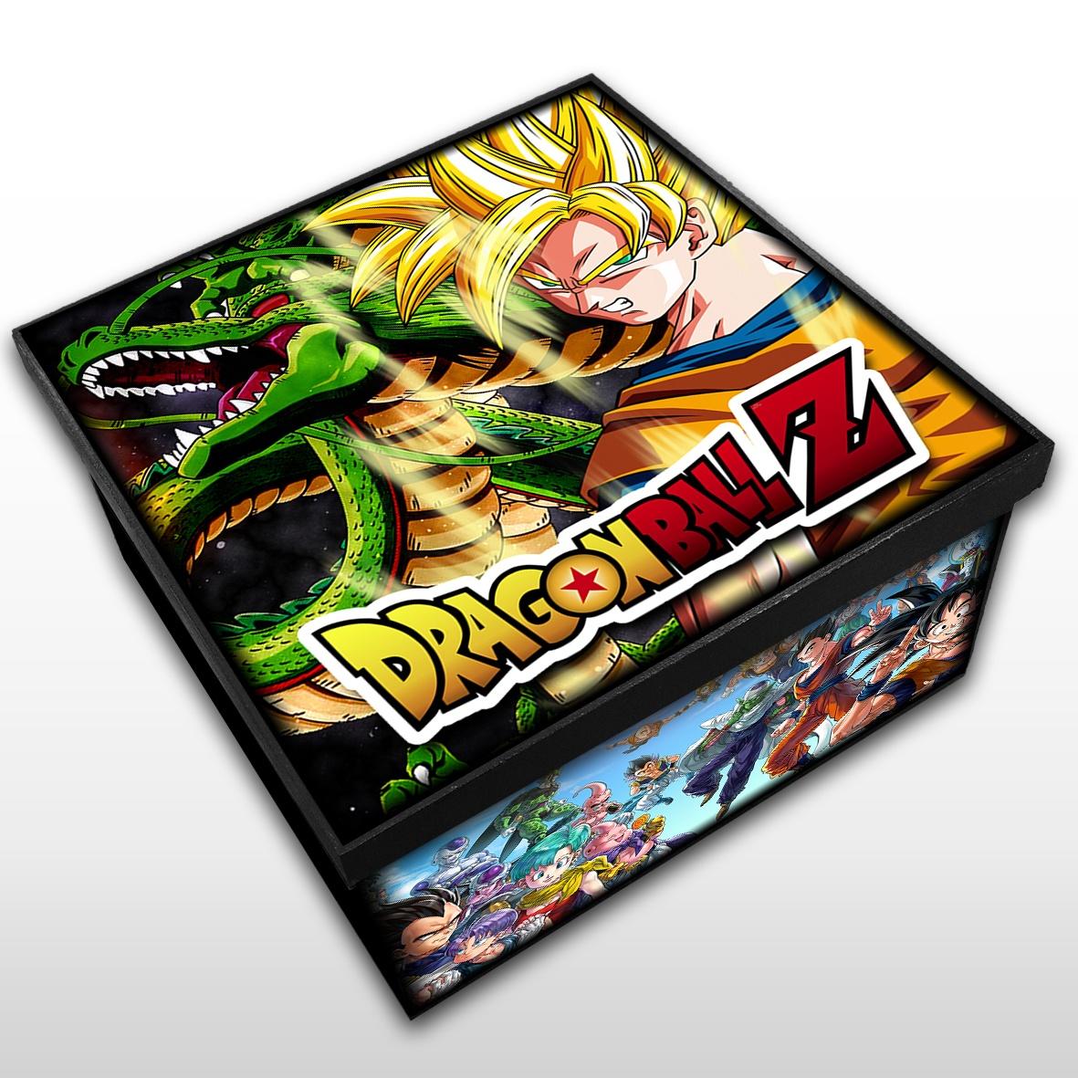 Dragon Ball - Caixa em MDF - Tam. Médio - Mr. Rock