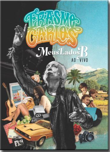 Dvd Erasmo Carlos Meus Lados b - ao Vivo (dvd+cd)