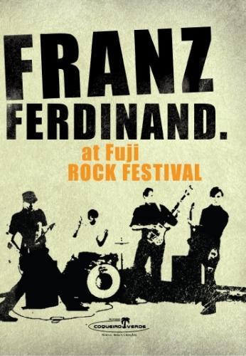 Dvd Franz Ferdinand - at Fuji Rock Festival