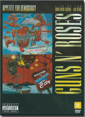 Dvd Guns n Roses - Appetite For Democracy