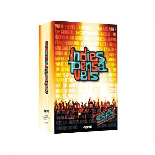 Dvd Indiespensáveis - Box (4dvds)