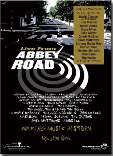 Dvd Live From Abbey Road - Diversos Internacionais - (dvd Duplo)