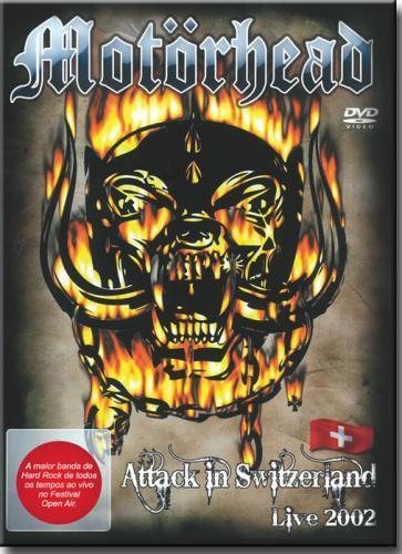 Dvd Motorhead - Attack in Switzerland Live 200