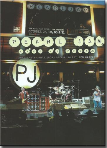 Dvd Pearl Jam - Live in Texas