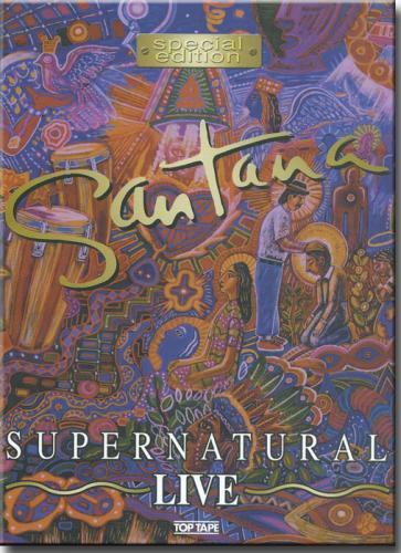 Dvd Santana - Supernatural Live
