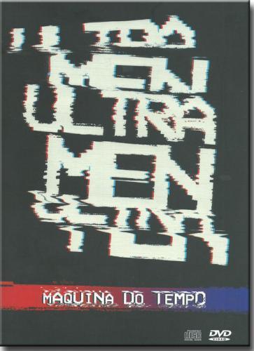 Dvd Ultramen - Máquina do Tempo (dvd+cd)