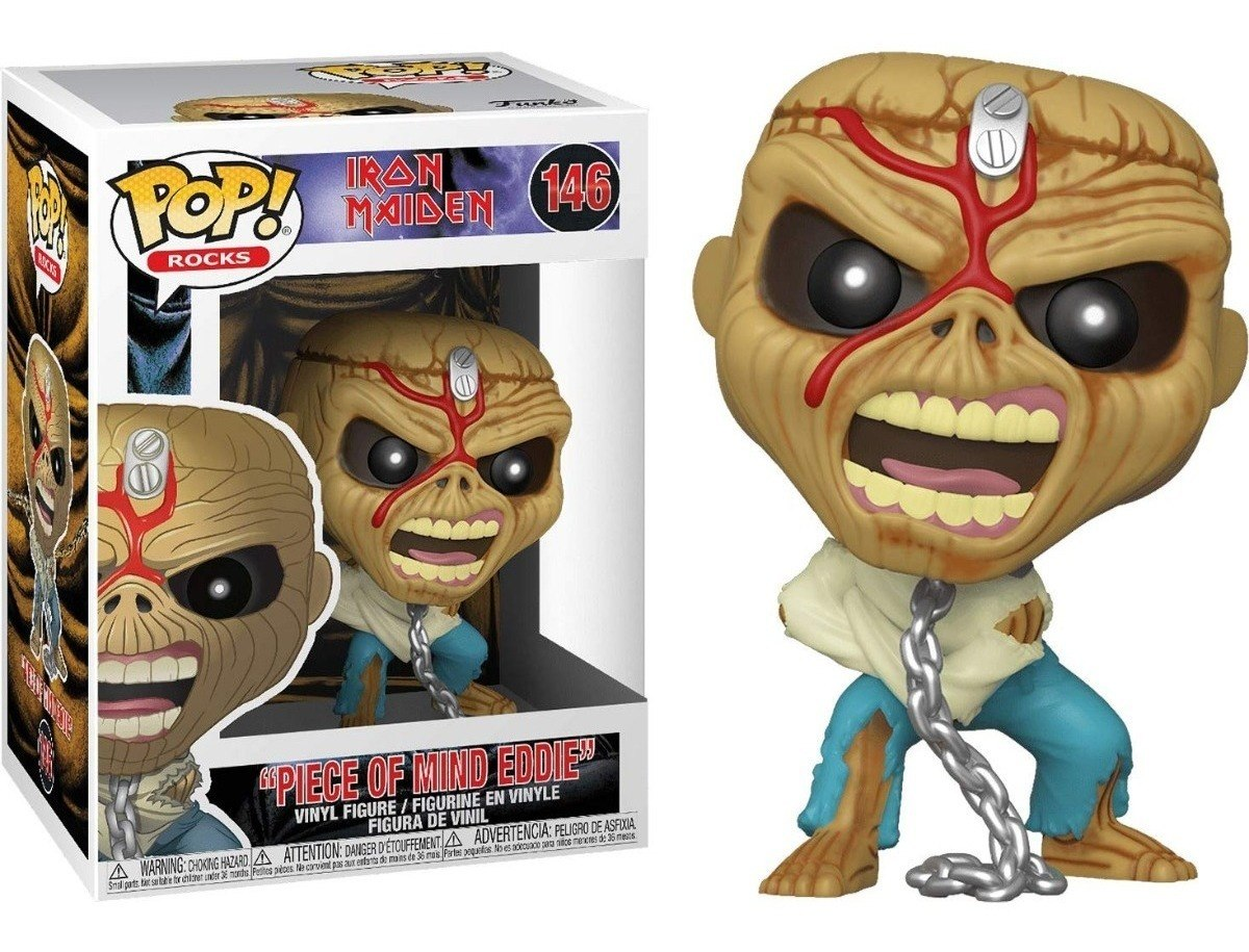 Eddie Piece of mind - Funko Pop! - Iron Maiden