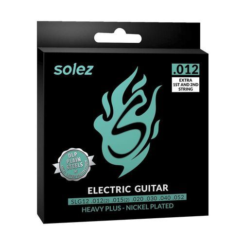 Encordoamento para guitarra Solez 012 SLG 12