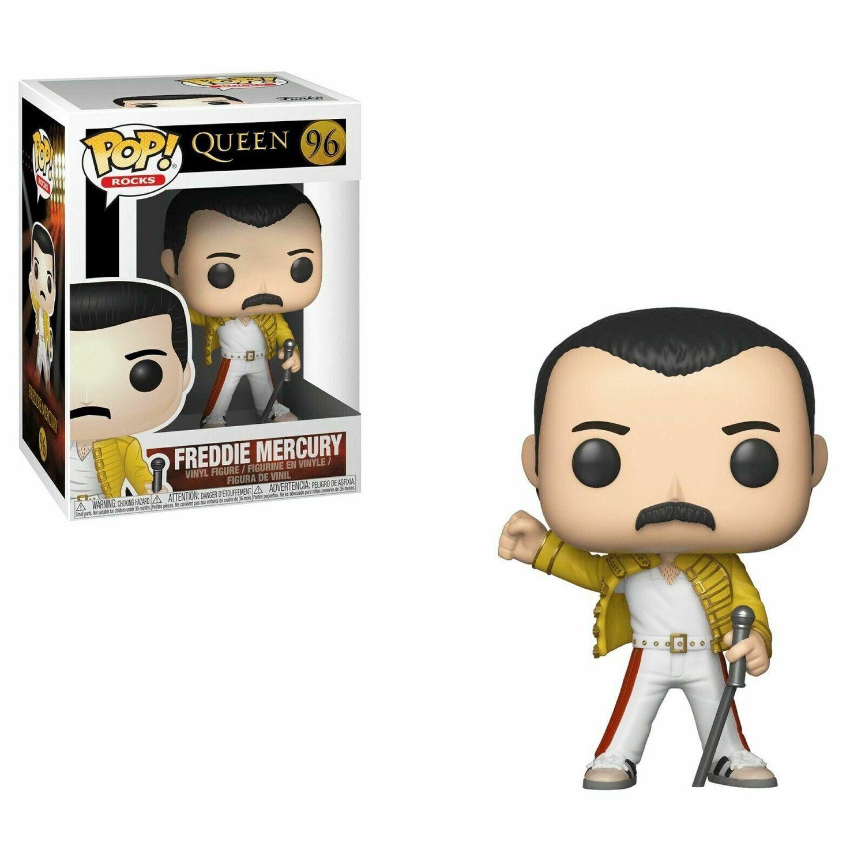 Freddie Mercury - Queen - Wembley 1986 Funko Pop! Rocks #96