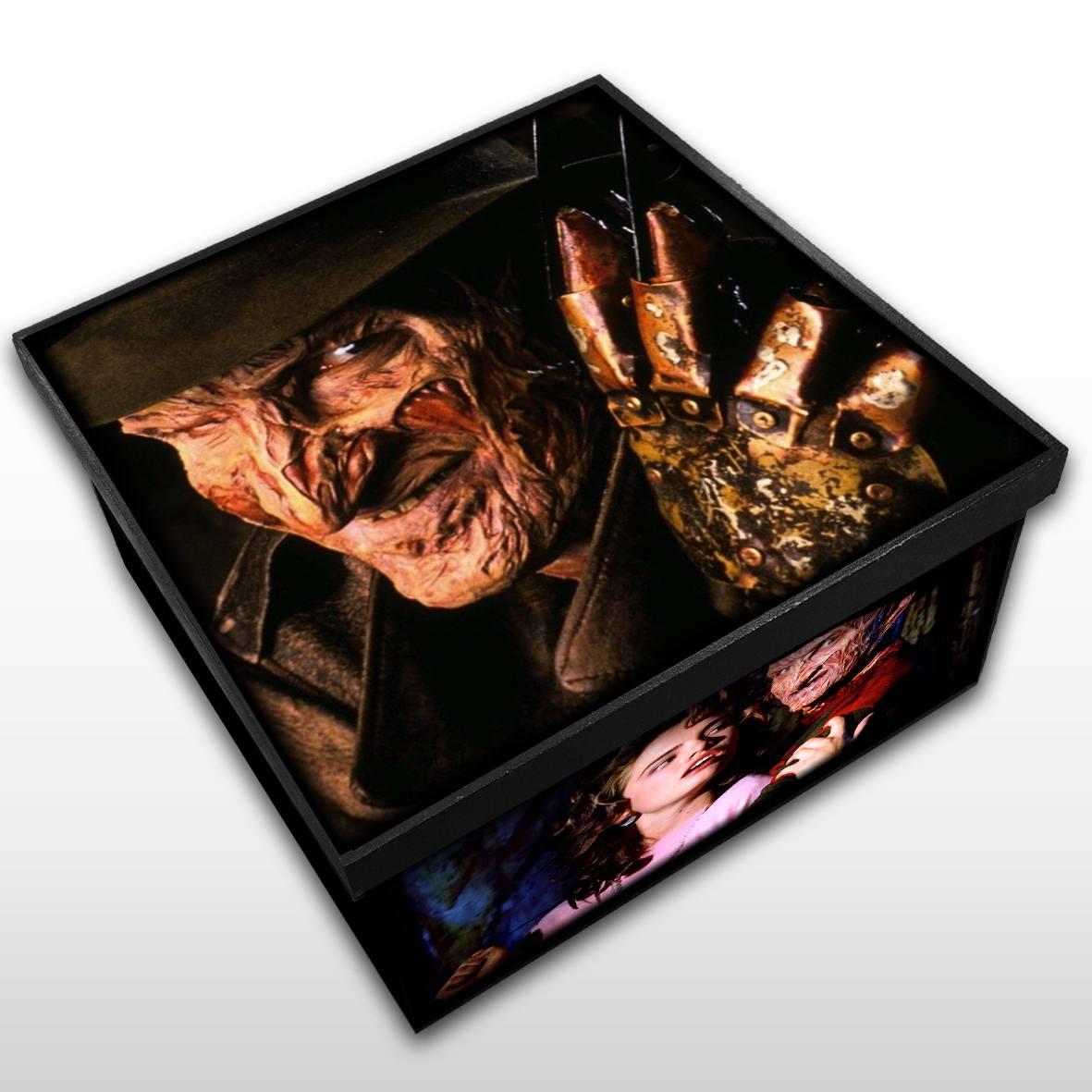 Freddy Krueger - Caixa em MDF - Tam. Médio - Mr. Rock