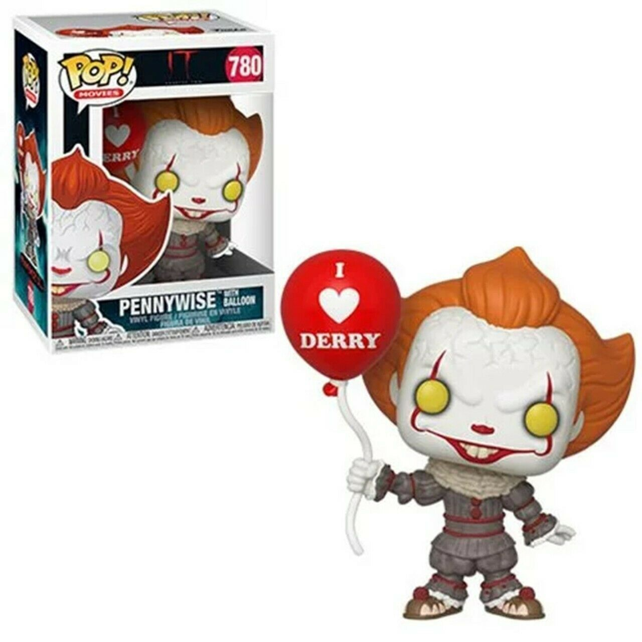 Funko Pop! - Pennywise With Balloon - It Chapter 2 - #780