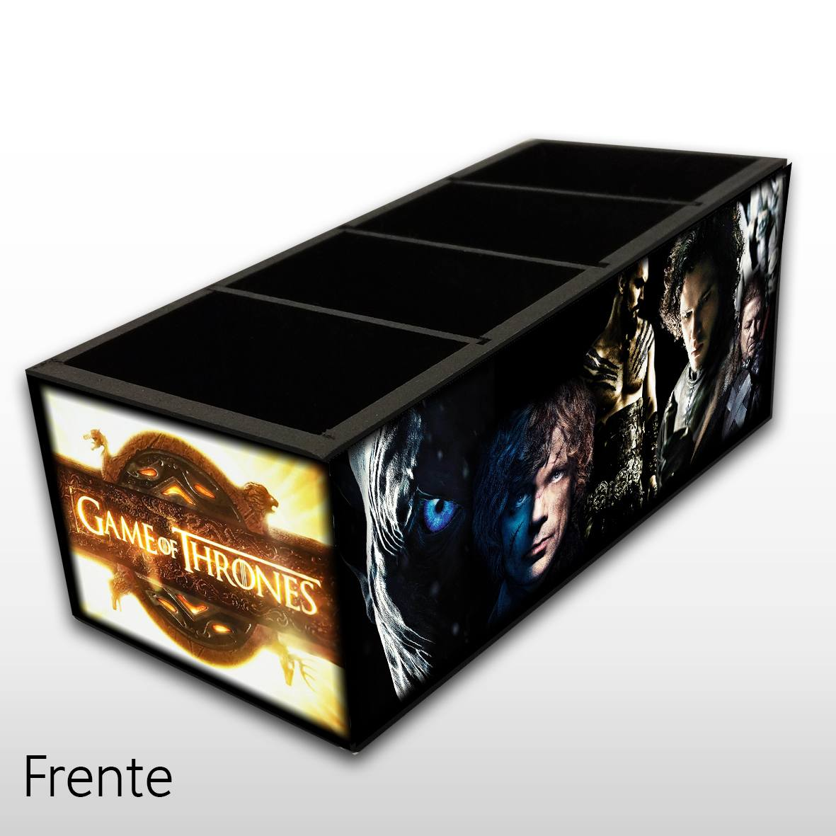 Game of Thrones - Porta Controles MDF - 4 Espaços - Mr. Rock
