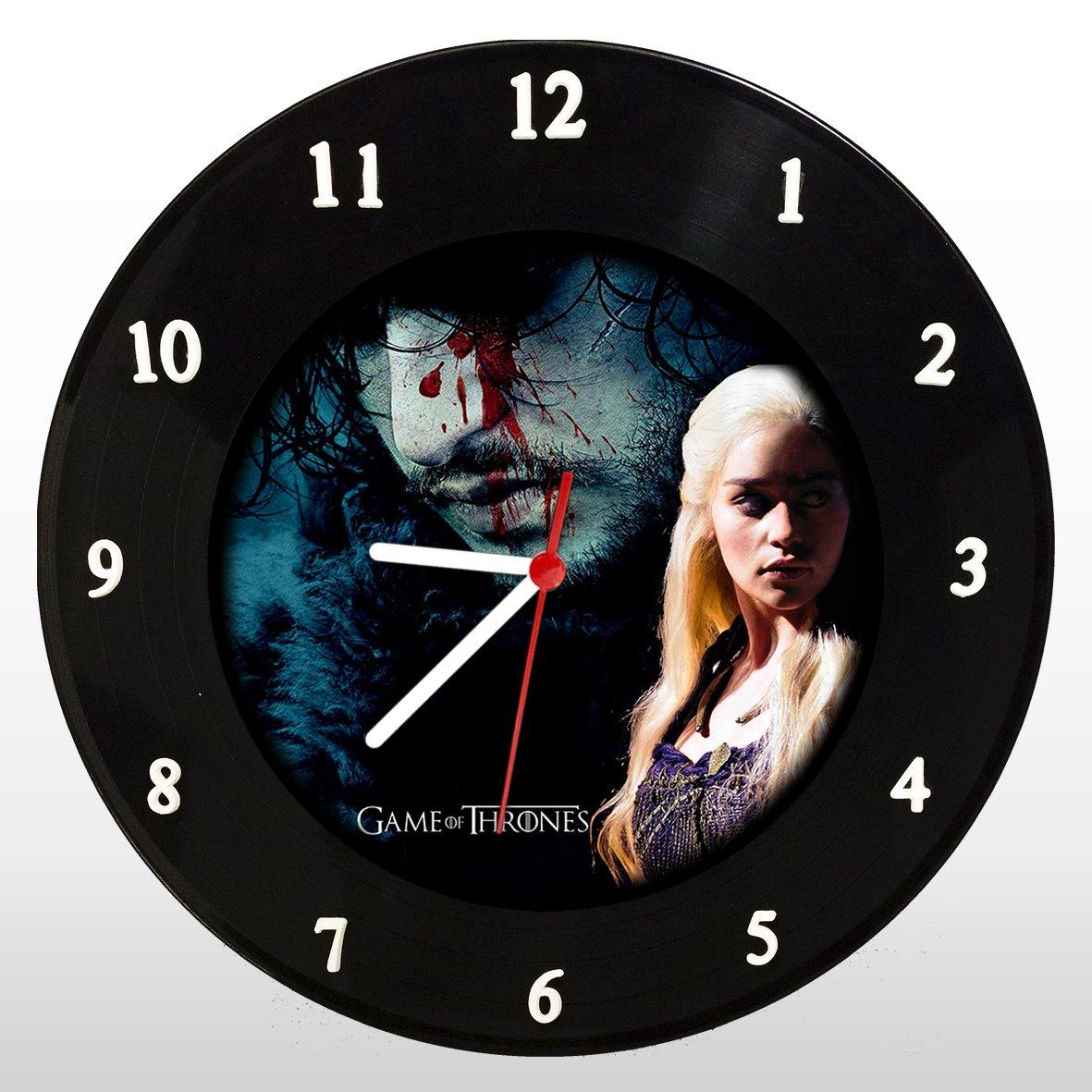 Game of Thrones - Relógio de Parede em Disco de Vinil - Mr. Rock
