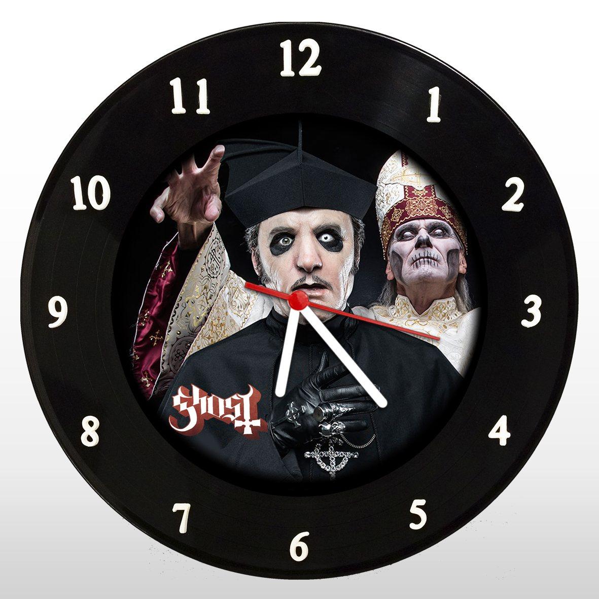 Ghost - Relógio de Parede em Disco de Vinil - Mr. Rock