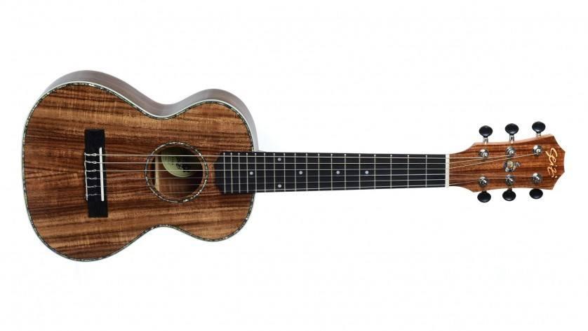 Guitarlele Seizi Bora-Bora Acústico - Madeira Koa