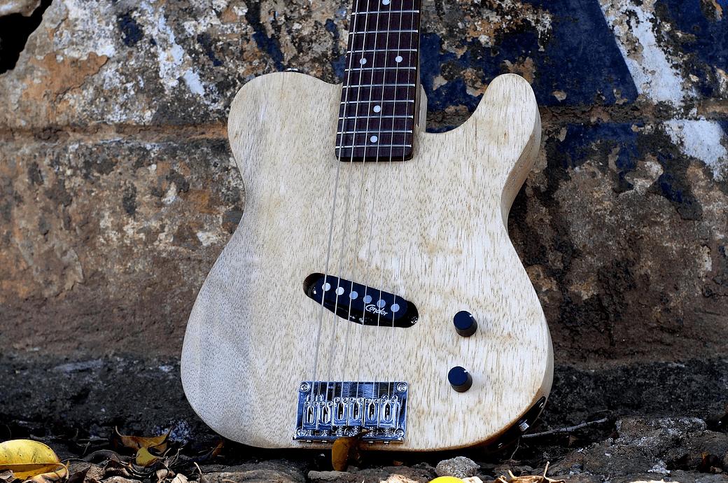 Guitarra Mini Tele Unique - EcoGuitar