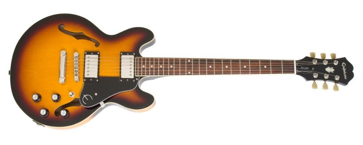 Guitarra Semi Acústica Epiphone ES-339 Vintage Sunburst