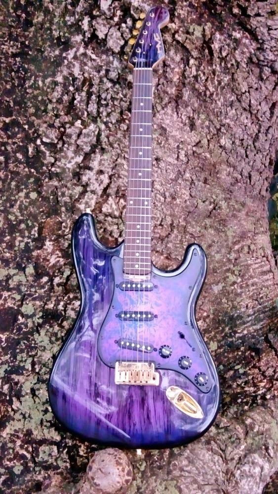 Guitarra Strato Alamanda Hot Machine Custom