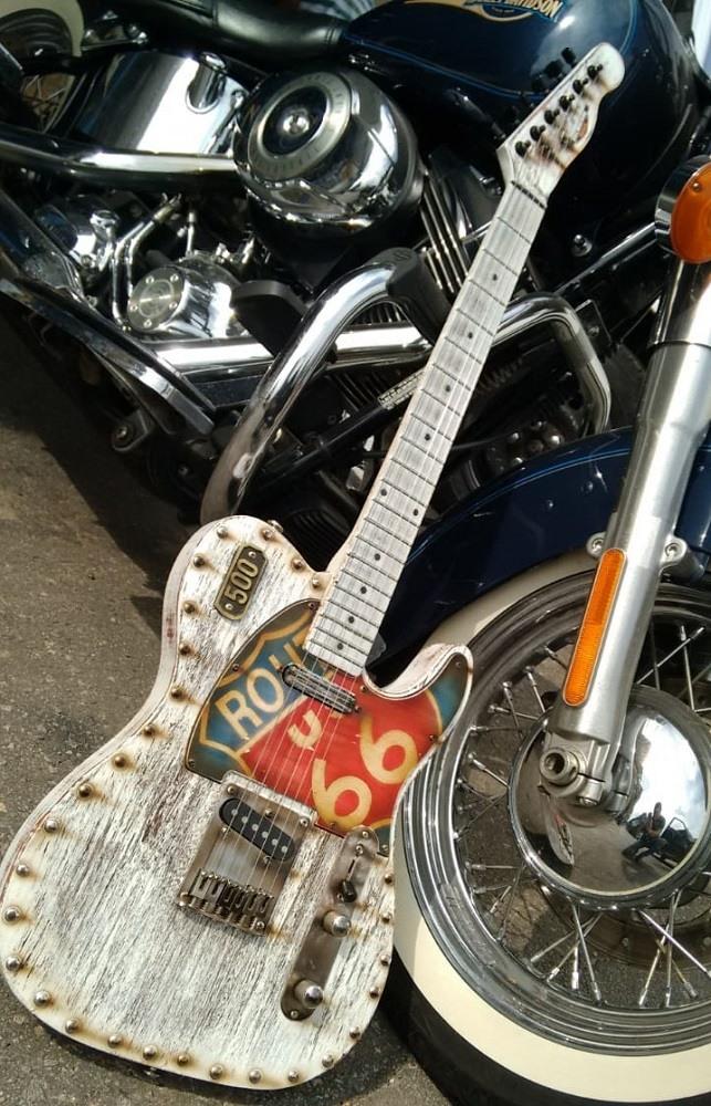 Guitarra Telecaster ROUTE 66 HMC