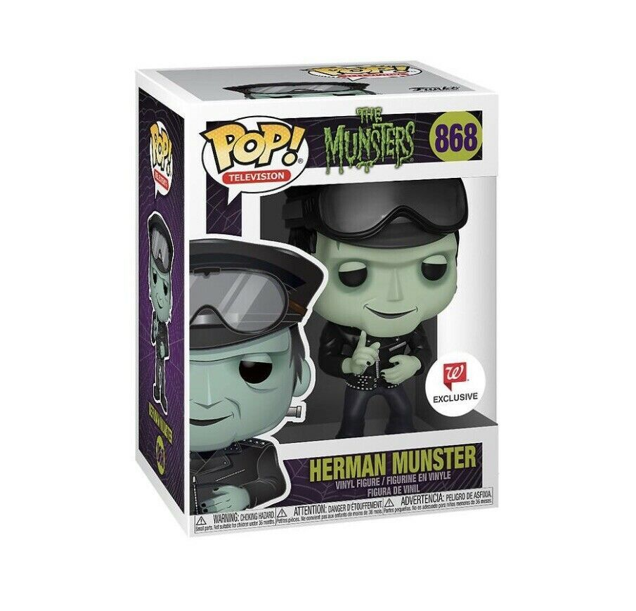Herman Munster - The Munsters - Funko Pop! #868