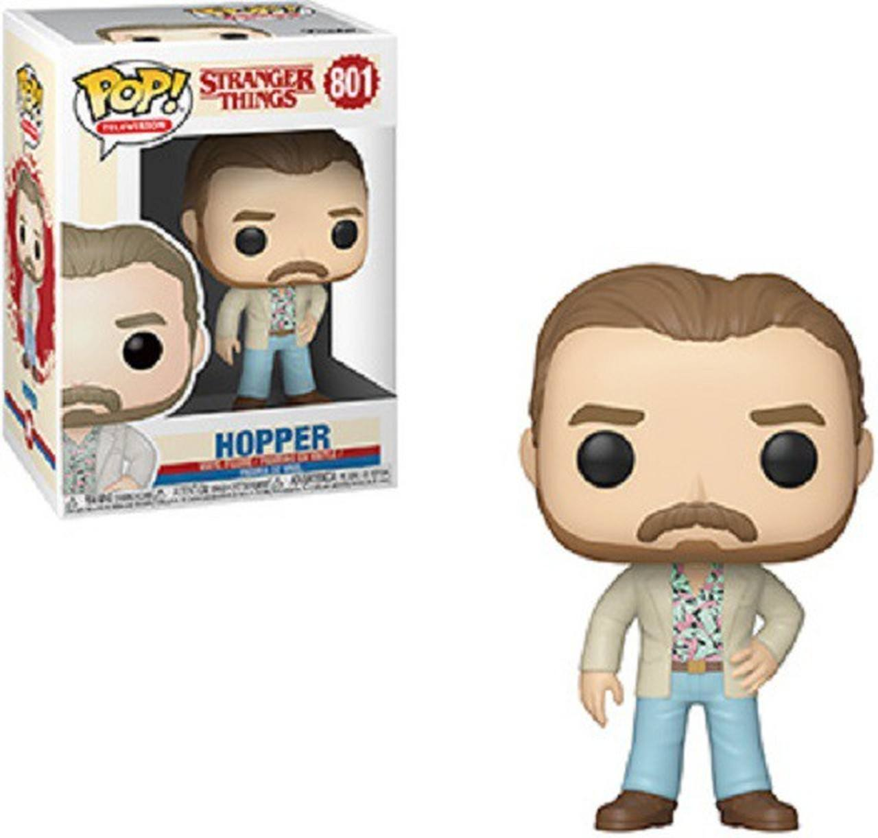 Hopper - Stranger Things - Funko Pop!