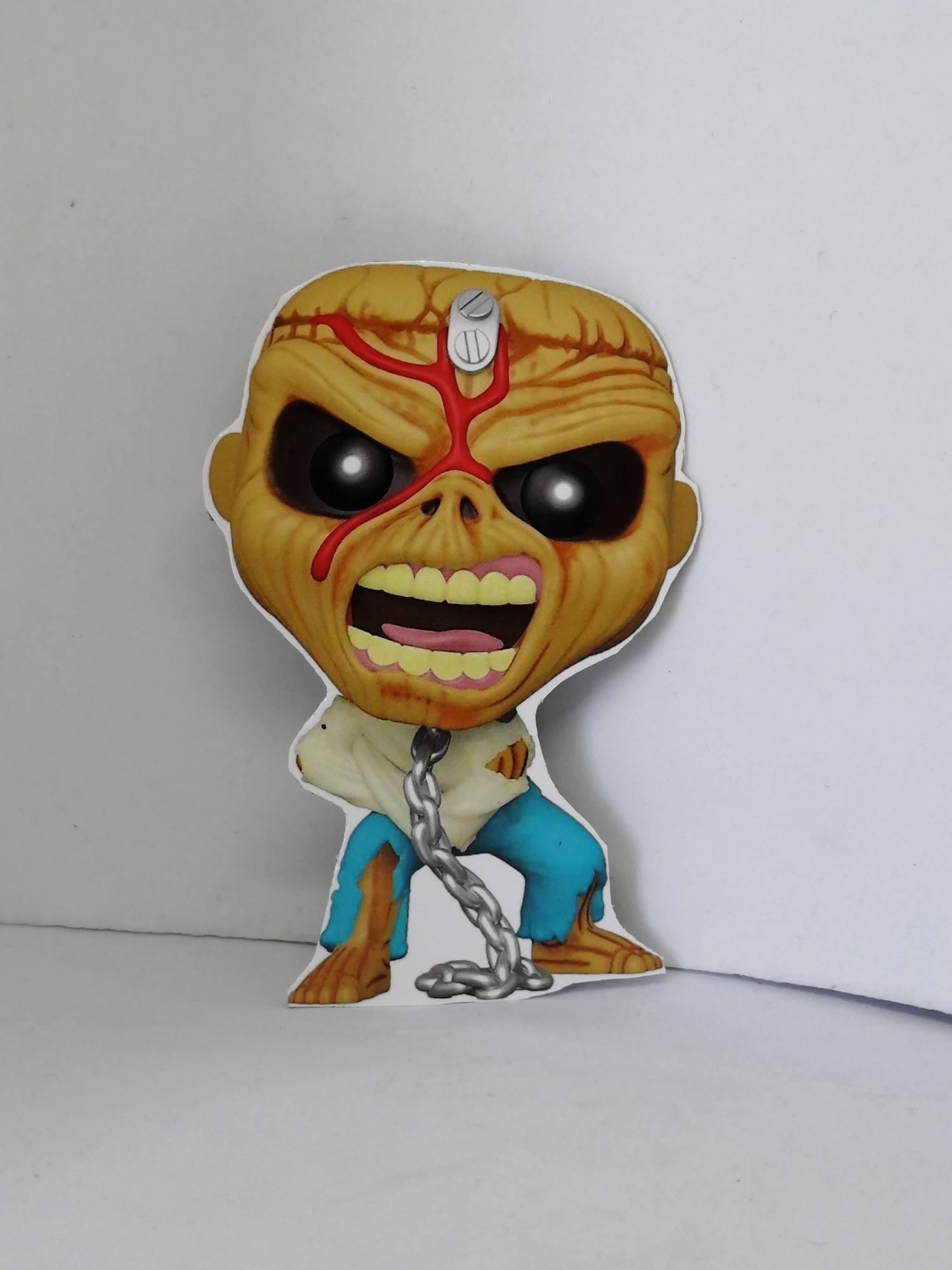 Ímã - Iron Maiden: Eddie Piece of Mind