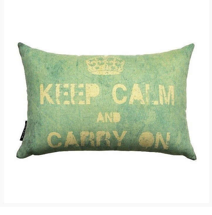 Almofada 30 Keep Calm Blue – Rvalentim