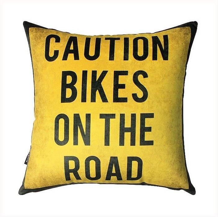 Almofada 45 Caution Bike – Rvalentim