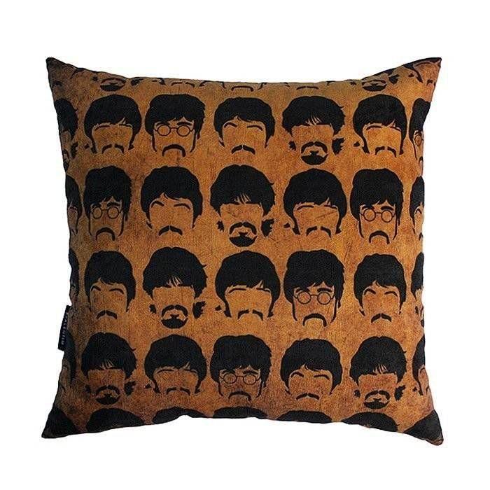 Almofada 45 Beatles Faces Orange – Rvalentim