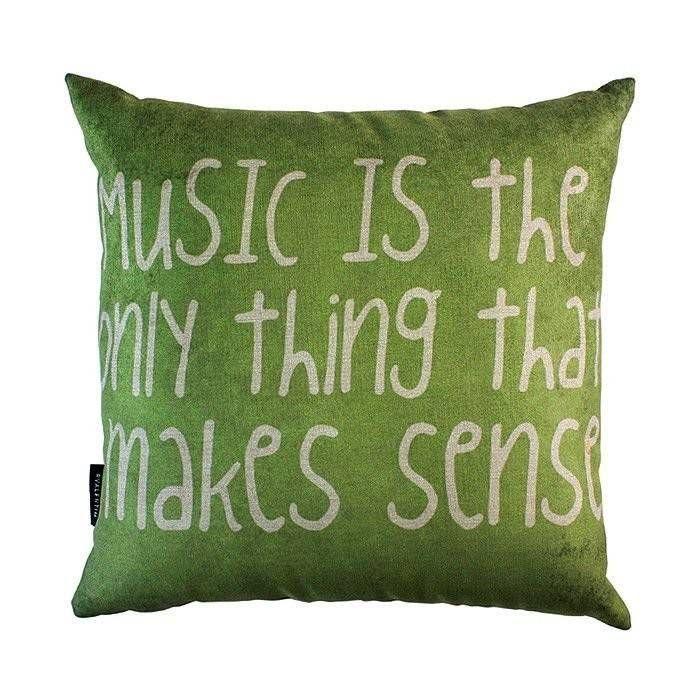 Almofada 45 Music Is Green – Rvalentim