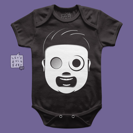 Body Infantil Let's Rock Baby Slipknot Baby
