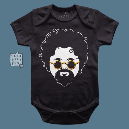 Body Infantil Let's Rock Baby Raul Seixas Baby