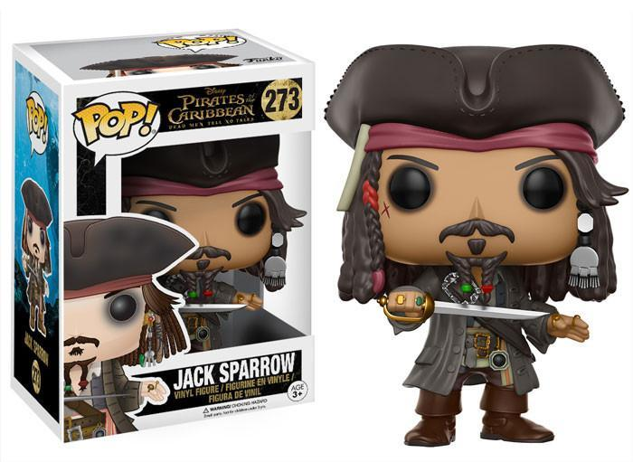 Jack Sparrow - Piratas do Caribe - Funko POP!