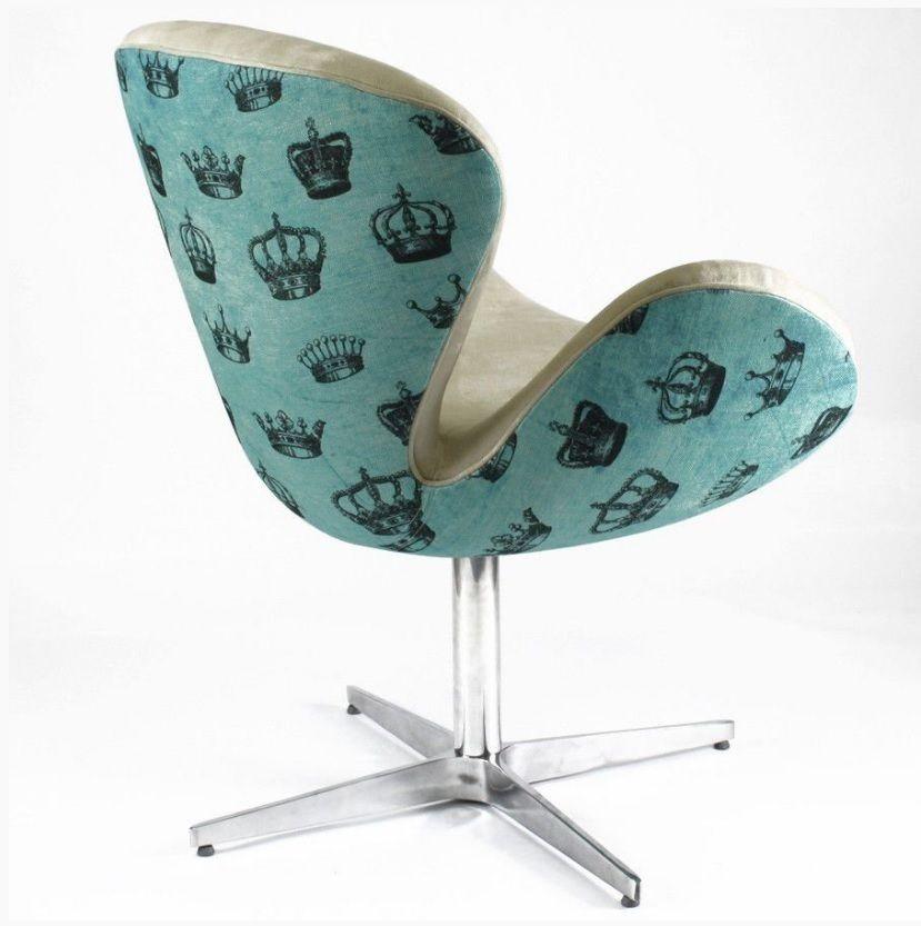 Cadeira Swan Royale Blue – Rvalentim