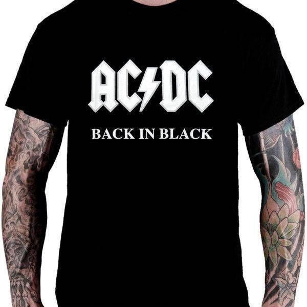 CamisetaAC/DC –Back in Black
