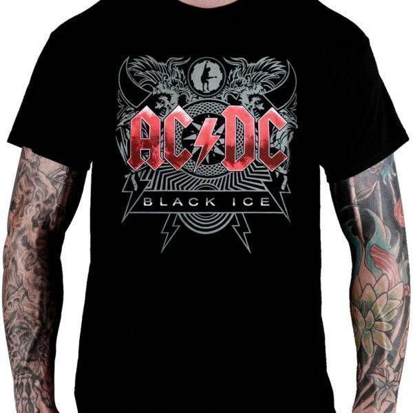 Camiseta AC/DC – Black Ice