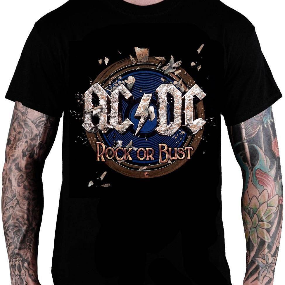 Camiseta AC/DC – Rock or Bust!