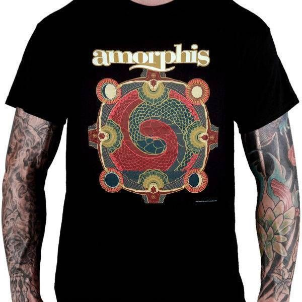 Camiseta Amorphis – Under The Red Cloud