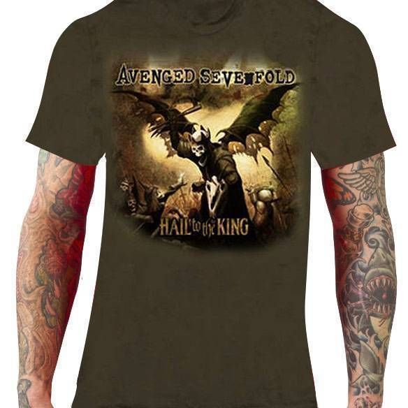 CamisetaAvenged Sevenfold – Hail to the King