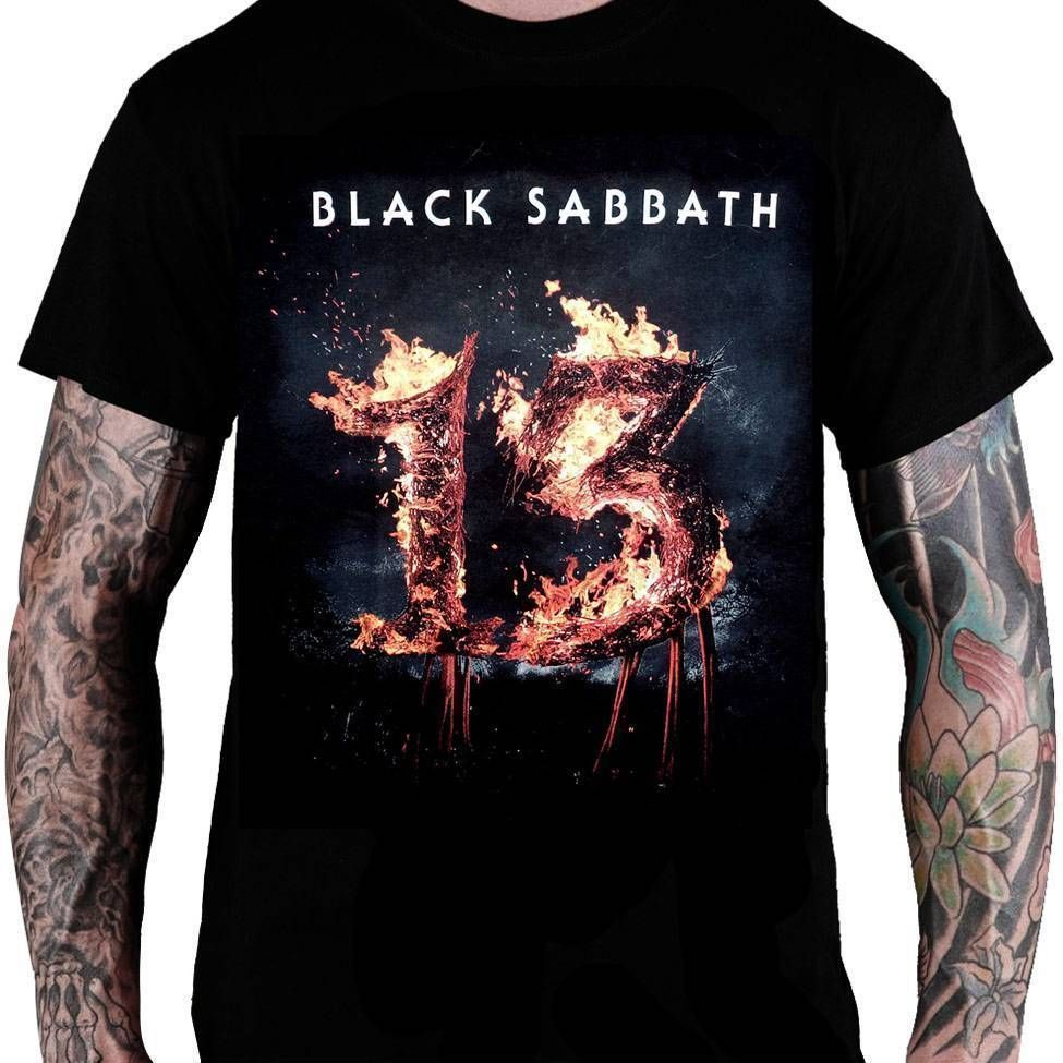 Camiseta Black Sabbath – 13 Thirtheen