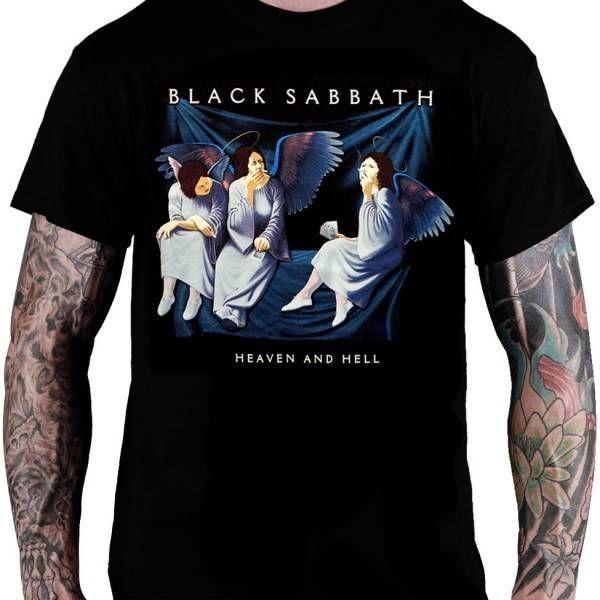 Camiseta Black Sabbath - Heaven and Hell