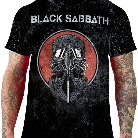 CamisetaBlack Sabbath – Mescla