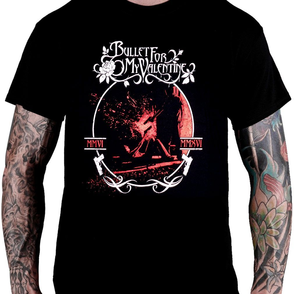 Camiseta Bullet For My Valentine – The Poison
