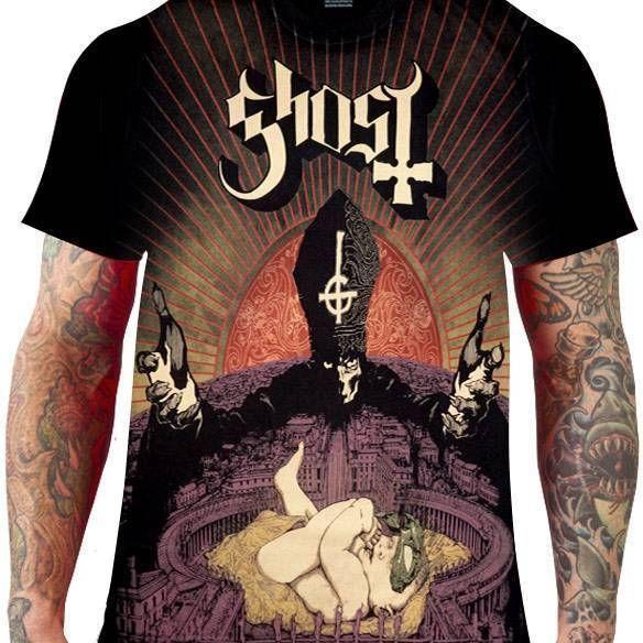 CamisetaGhost – Infestissumam