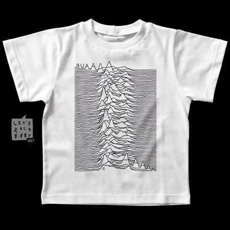 Camiseta Infantil Let's Rock Baby Joy Division Buá